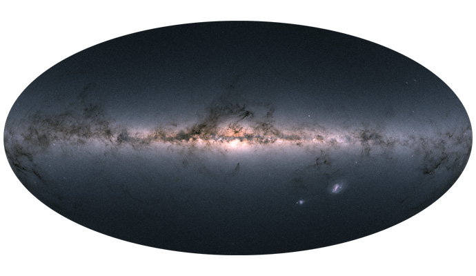 An image of the galaxy from the Gaia project.